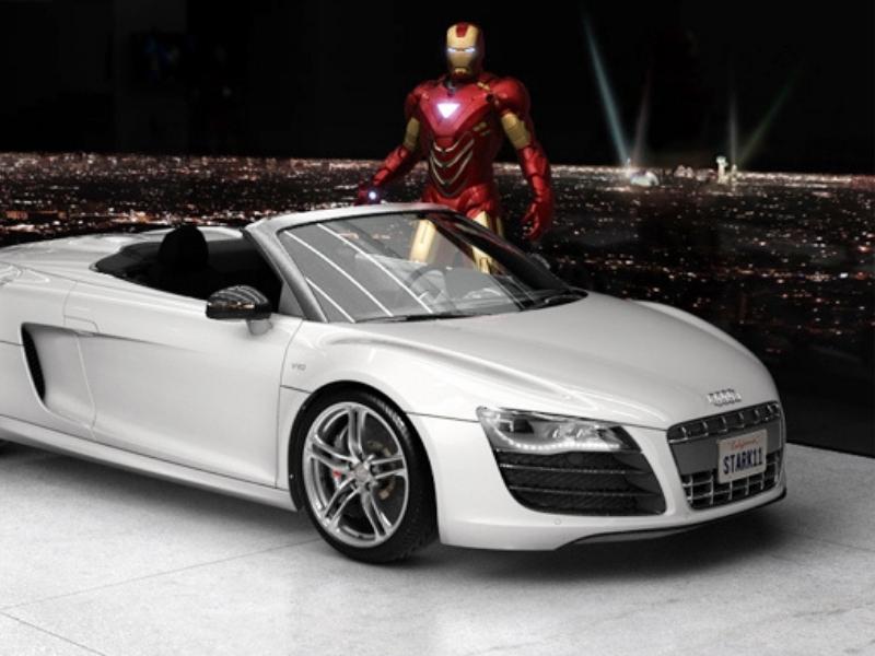 Coches Audi en el cine